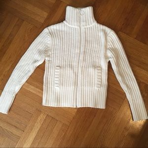 Other - NEW! Cream Pullover Turtleneck Girls Sweater